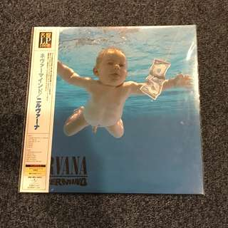 Nirvana - Nevermind 200G LP ( Japanese Pressing )