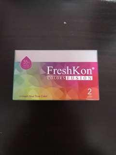 FreshKon Monthly Lens 0 degree (Brown)