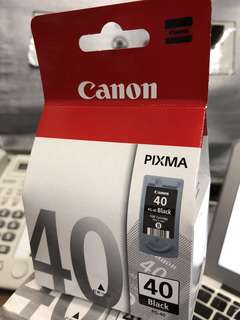 Canon Ink Cartridge Pixma PG-40 Black