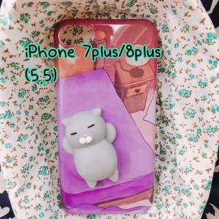 ⭐️軟綿綿立體小貓iPhone殼⭐️