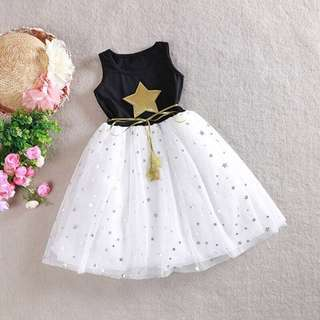 Ready Stock Star Girl Dress