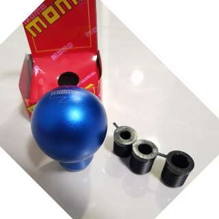 Gear Knob - MOMO ARROW BLUE_ GEAR KNOB ROUND series - (BRAND NEW WITH BOX) - RESTOCK