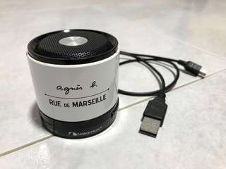Authentic Agnès b. - RUE de MARSEILLE, Nakamichi Mini Bluetooth portable Speaker