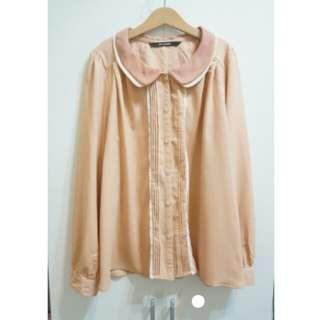 日本Ray Cassin 雪紡襯衫