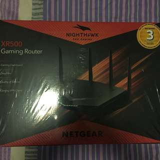 NETGEAR XR500 NIGHTHAWK PRO GAMING ROUTER