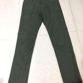 CHOCOOLATE 男裝綠色褲