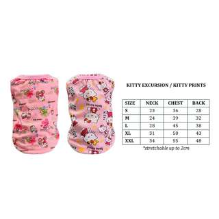 Dog Cat Rabbit Pet Clothes Hello Kitty