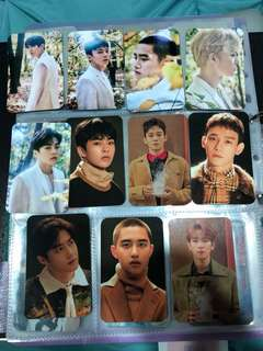 SALE! EXO ON HAND PHOTO CARDS