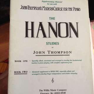 Free mail! Hanon By John Thompson