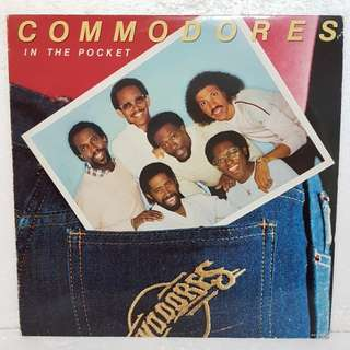 Commodores - In The Pocket  Vinyl Record