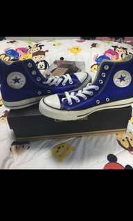 Converse high cut shoe