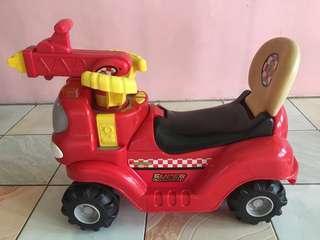 Firetruck Ride-On Car