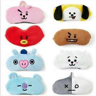 BT21 Unofficial Sleep Mask