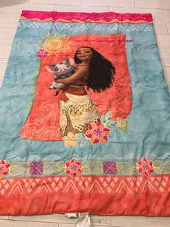 One set only!!! No restock !! Moana authentic  kids blankets ht145cm wt105cm brand new