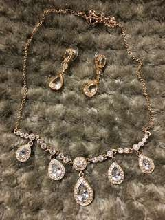 Carolee Necklace and Earring Set