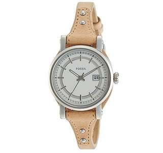 Fossil light brown leather Boyfriend's Watch