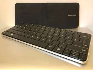 Microsoft Wedge Mobile Wireless Bluetooth Keyboard