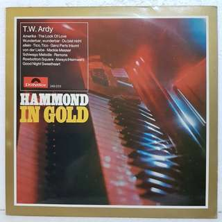 Hammond In Gold  Vinyl Record