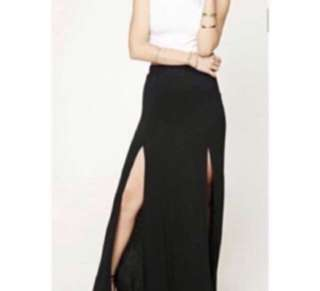F21 Maxi skirt with Slit