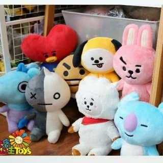BT21 Unofficial Plushie Doll