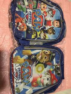 Instock Paw Patrol kids bag ht 38cm brand new