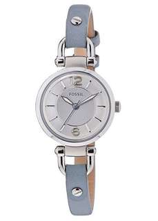 Fossil Grey Leather Women's watch