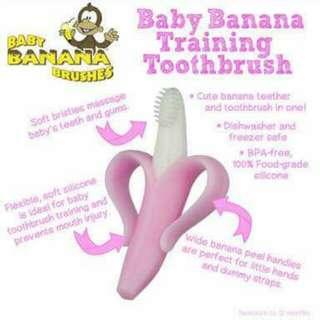 Baby banana training tootbrush