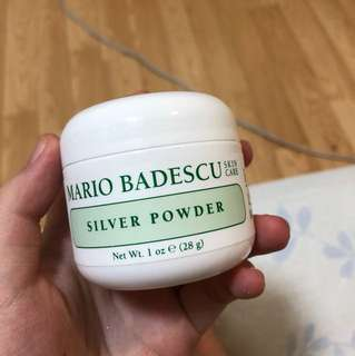 Mario badescu silver powder mask for oily skin
