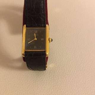 Cartier watch 卡地亞復古手錶