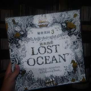 """Lost Ocean"" Adult Coloring Book"