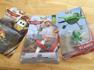 Disney's Planes die cast action figures , includes 3