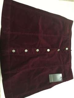Denver Hayes Button Front Skirt Size10