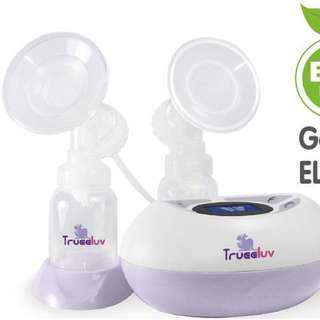 Trueeluv double electric breast pump