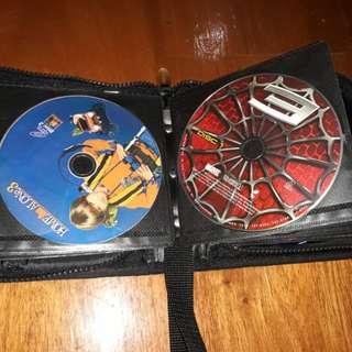 RUSH all original VCD set w/ case + free Series DVDs (read description)