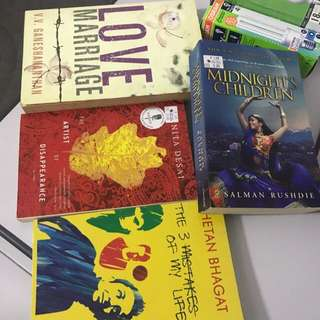 Indian authors books