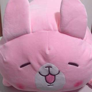 Cute pink rabbit plush