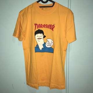 Trasher Tee / Kaos Trasher / Kaos Hypebeast / Mirror 1:1