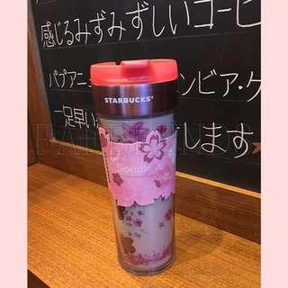 日本直送 Starbucks 日本櫻花別注版環保便携杯