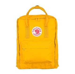 [INSTOCK] FJALLRAVEN KANKEN CLASSIC BACKPACK (WARM YELLOW)
