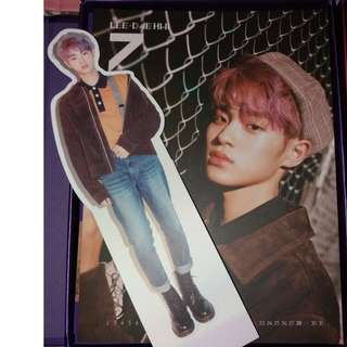 WTT Wanna One NOTHING WITHOUT YOU Album (calendar card, standee)