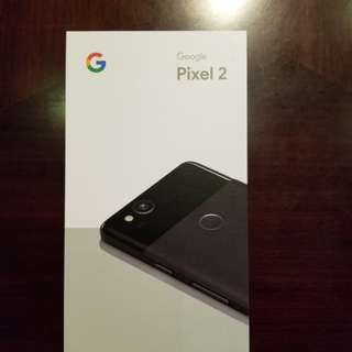 Google Pixel 2 Black 128Gb USA beand new never opened