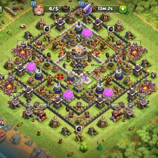 Clash Of Clans Th11 Max Acc
