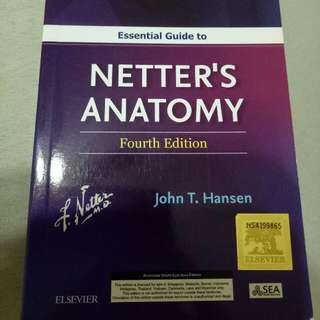 Netter's Anatomy (pocket Atlas)