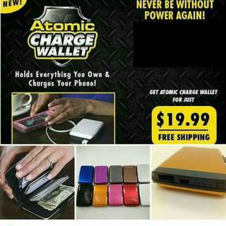 Automatic charge wallet