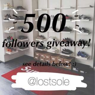 @lostsoul Giveaway! 🎉