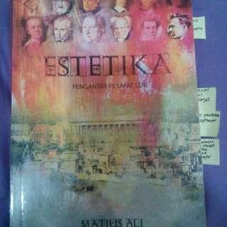 Buku Estetika Pengantar Filsafat Seni