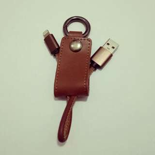 Key Chain Data Iphone Cable