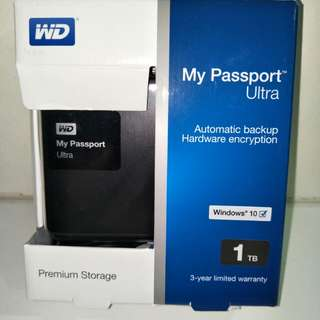 WD My Passport Ultra 1TB
