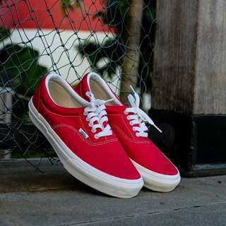 Vans japan era red chilli