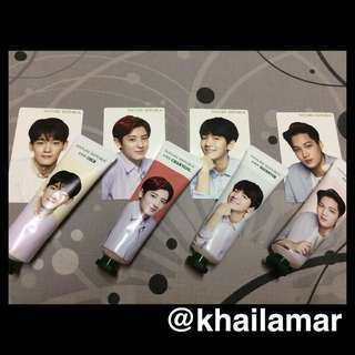 Nature Republic x EXO Hand cream